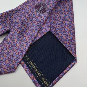 Gorgeous Ermenegildo Zegna silk tie made in Italy